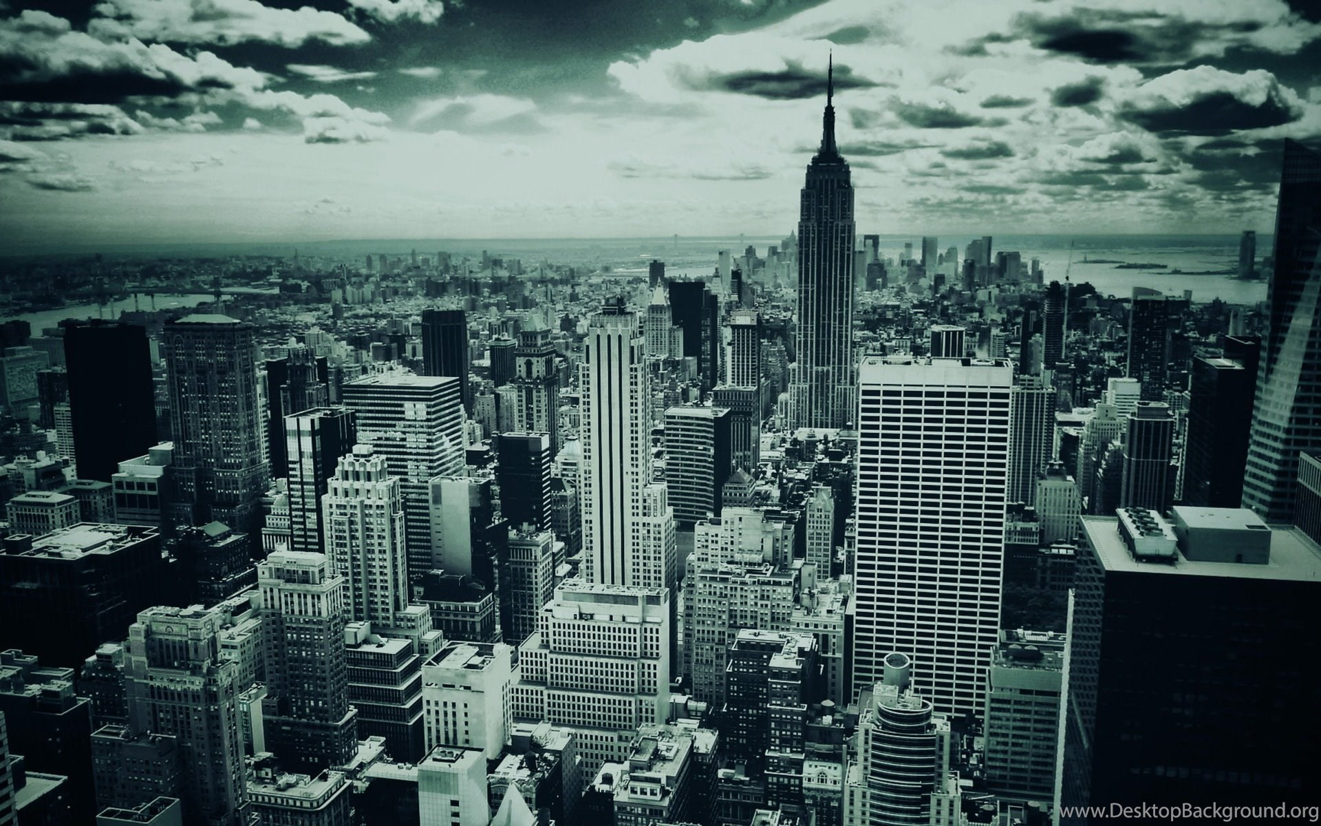 Download New York City USA HD Wallpapers Black And White Desktop