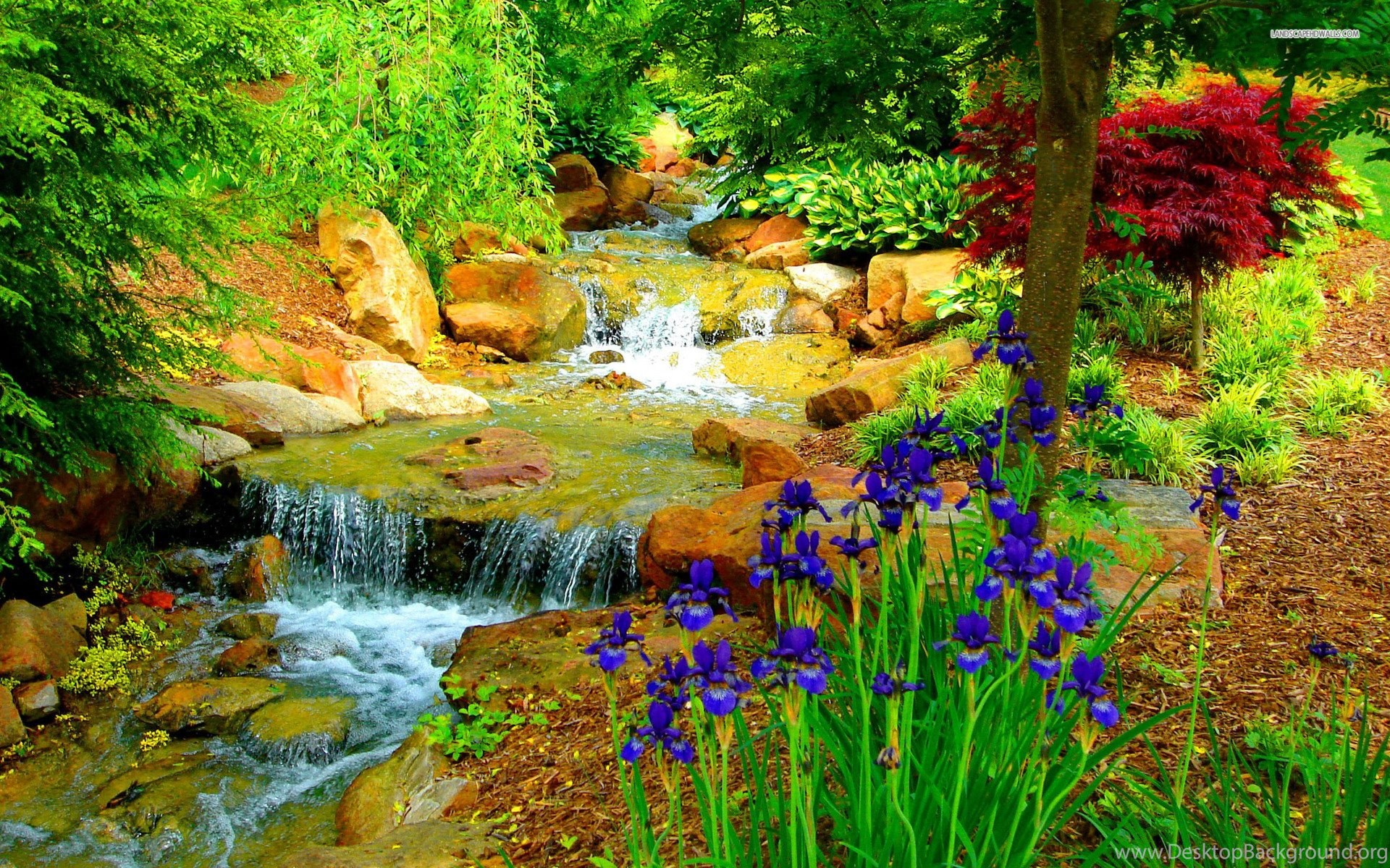 Beautiful Flower Garden Wallpapers Gh7 Desktop Background
