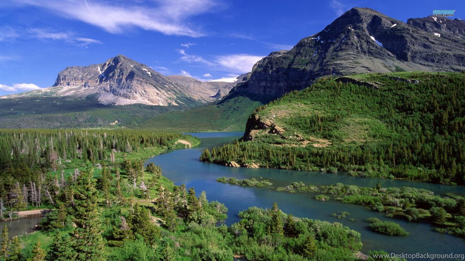 Hd Glacier National Park Wallpapers Desktop Background