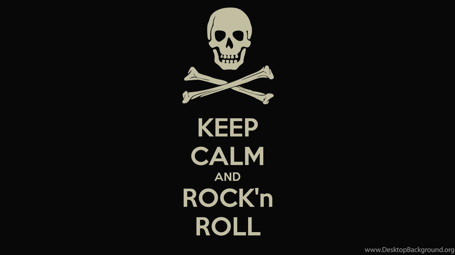 Wallpapers Rock N Roll Keep Calm And 979968 1920x1080 Desktop