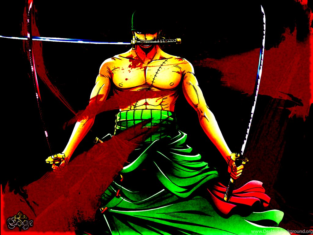 Zoro Swordsman Roronoa Zoro Wallpapers 36457160 Fanpop Desktop Background