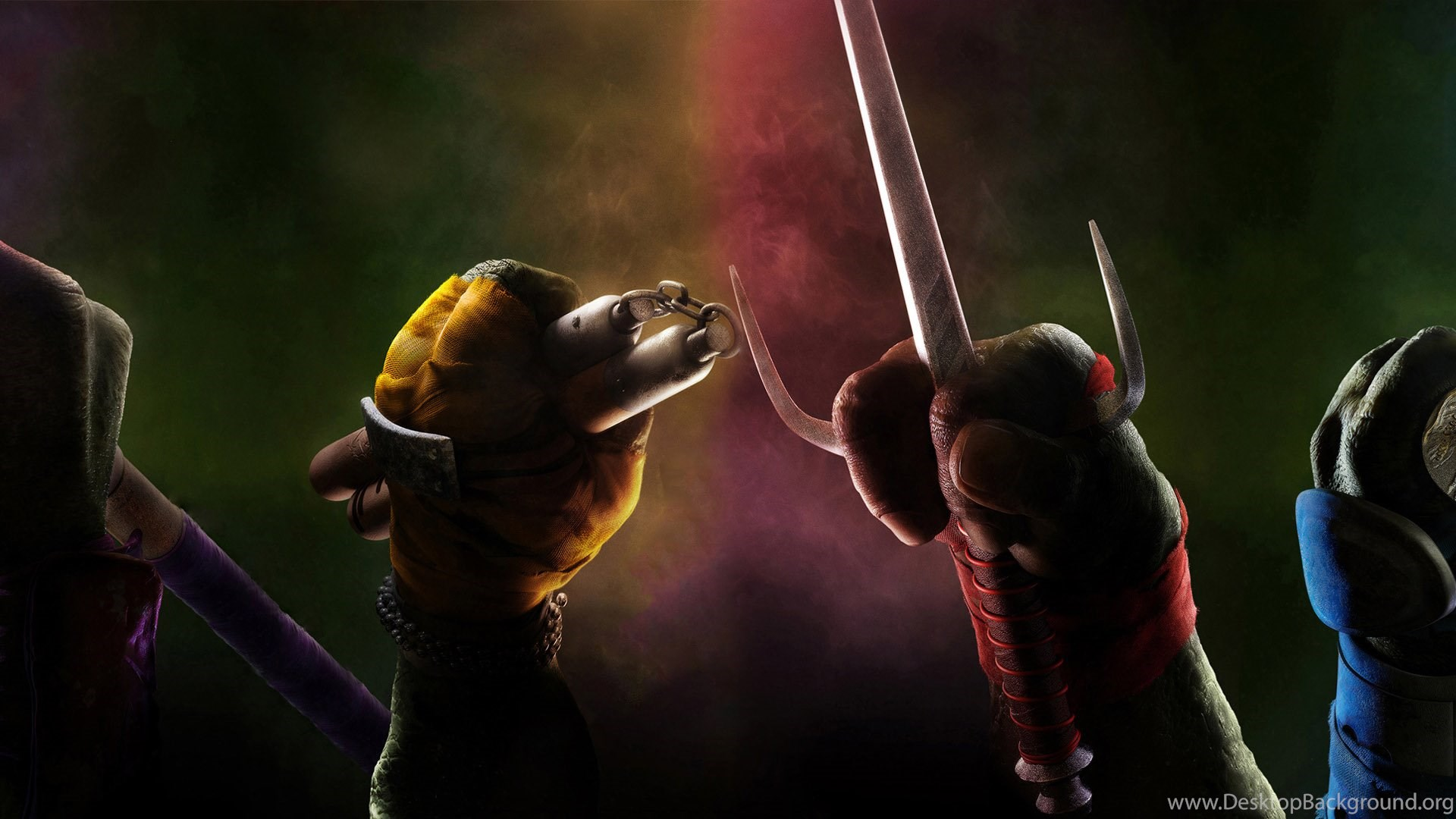 Teenage Mutant Ninja Turtles Hd Wallpapers Desktop Background