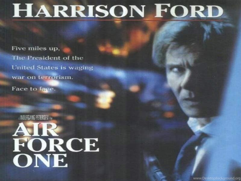 Air Force One Movie Posters Desktop Background