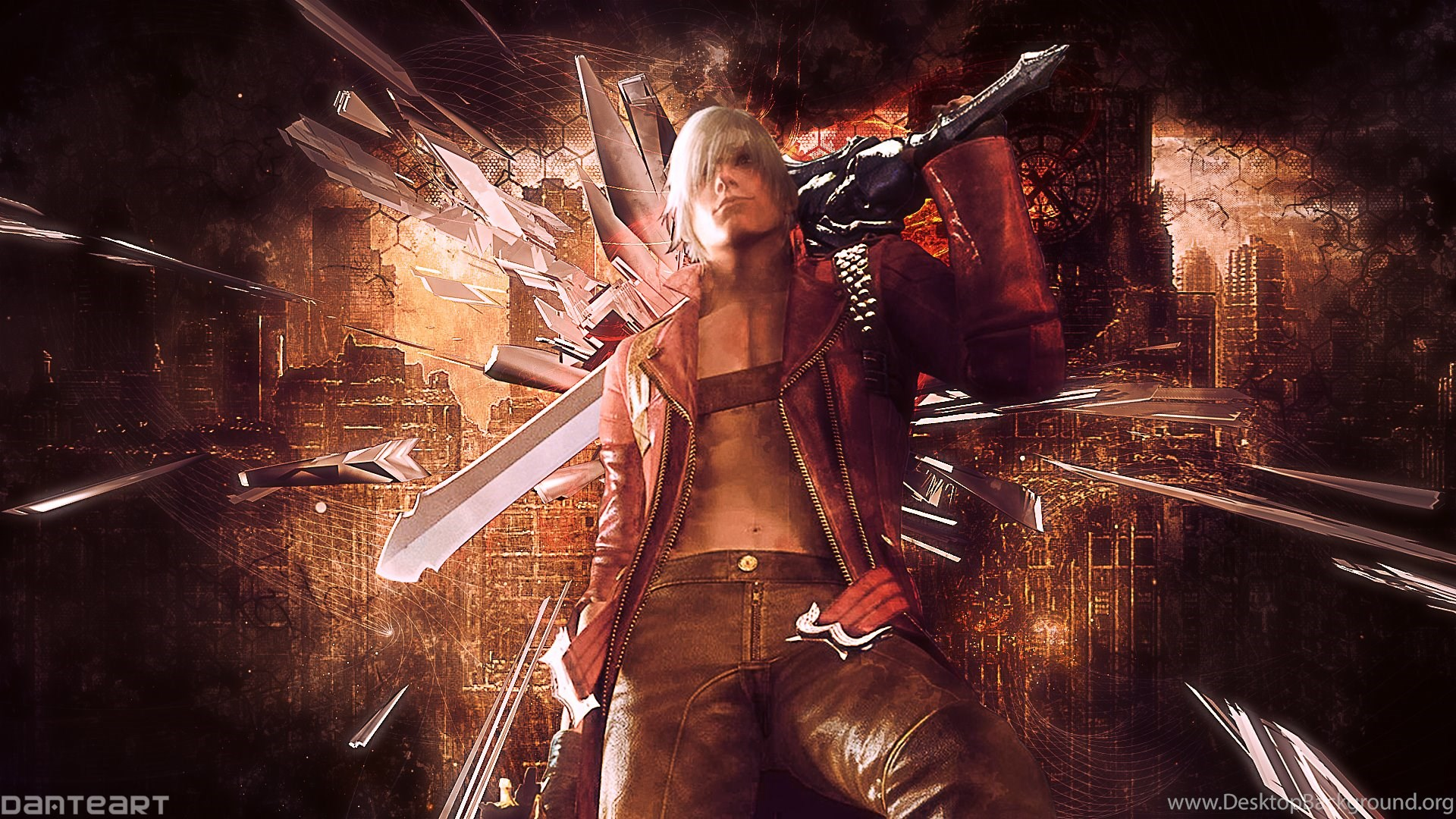 Devil May Cry 3 Dante Wallpapers By Danteartwallpapers On