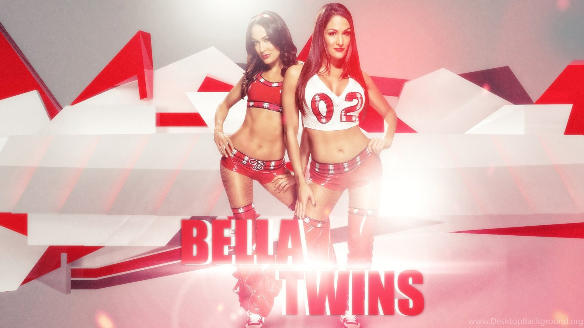 WWE Bella Twins HD Wallpapers Desktop Background