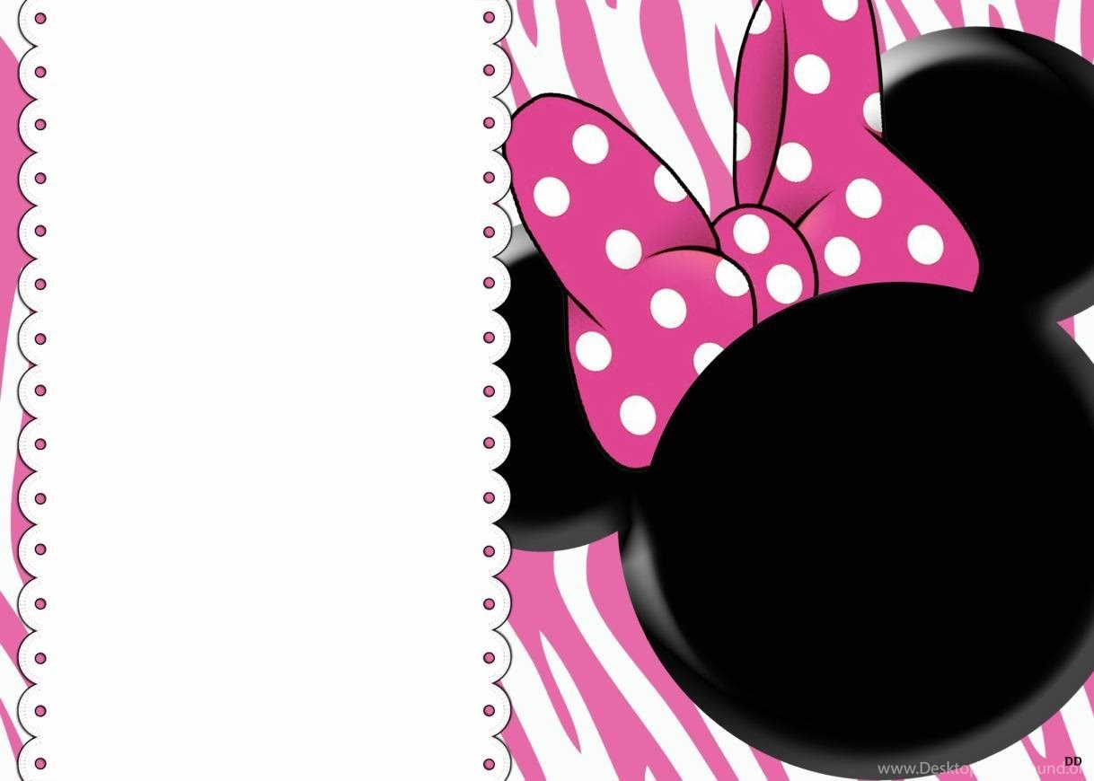 Minnie Mouse 1st Birthday Png