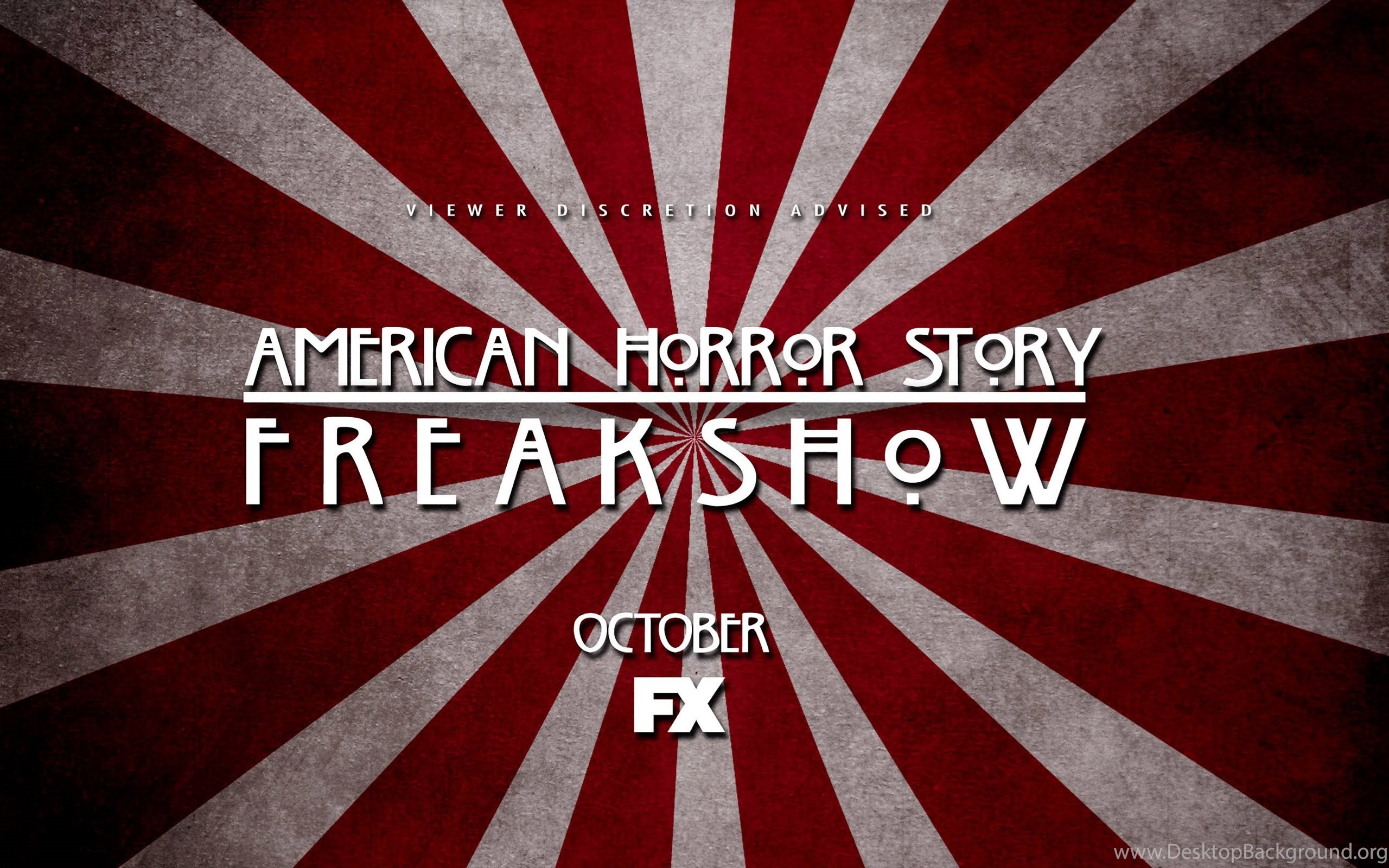 American Horror Story Freak Show 2014 Poster Wallpapers Desktop