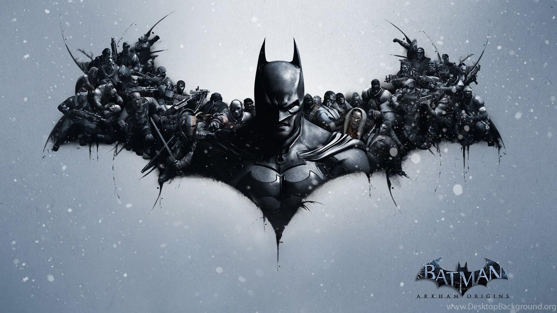 Batman Symbol In The Sky Wallpaper Desktop Background