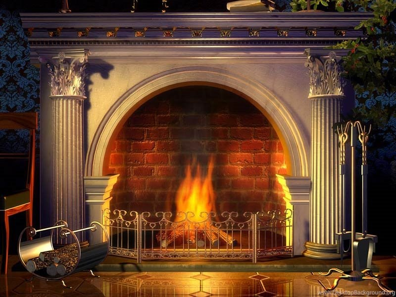 3d Christmas Fireplace Screensaver Nokia Free Download