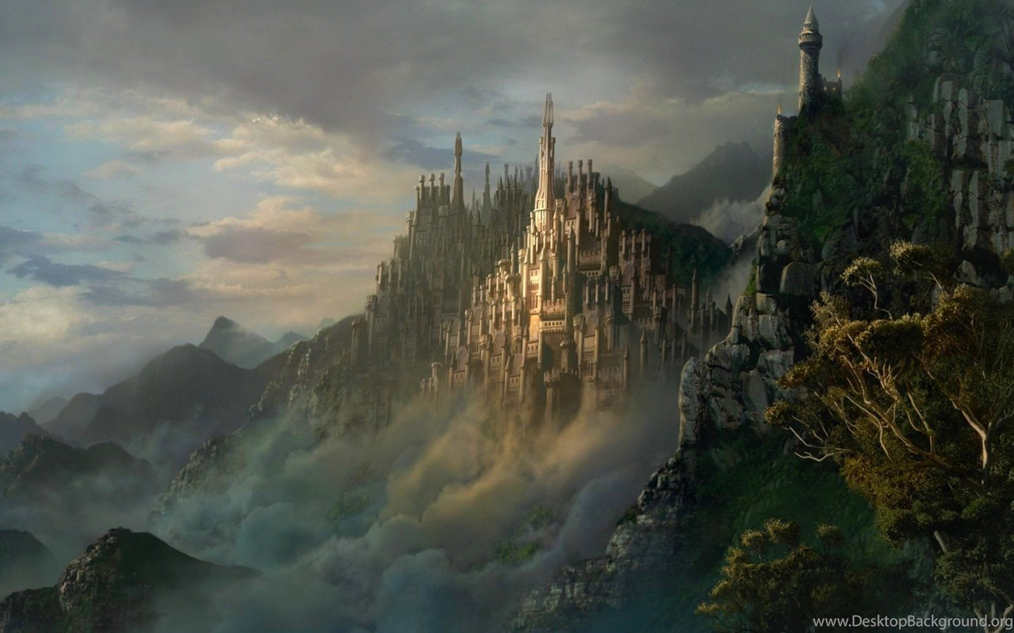 new world fantasy wallpapers 1440x900 desktop background
