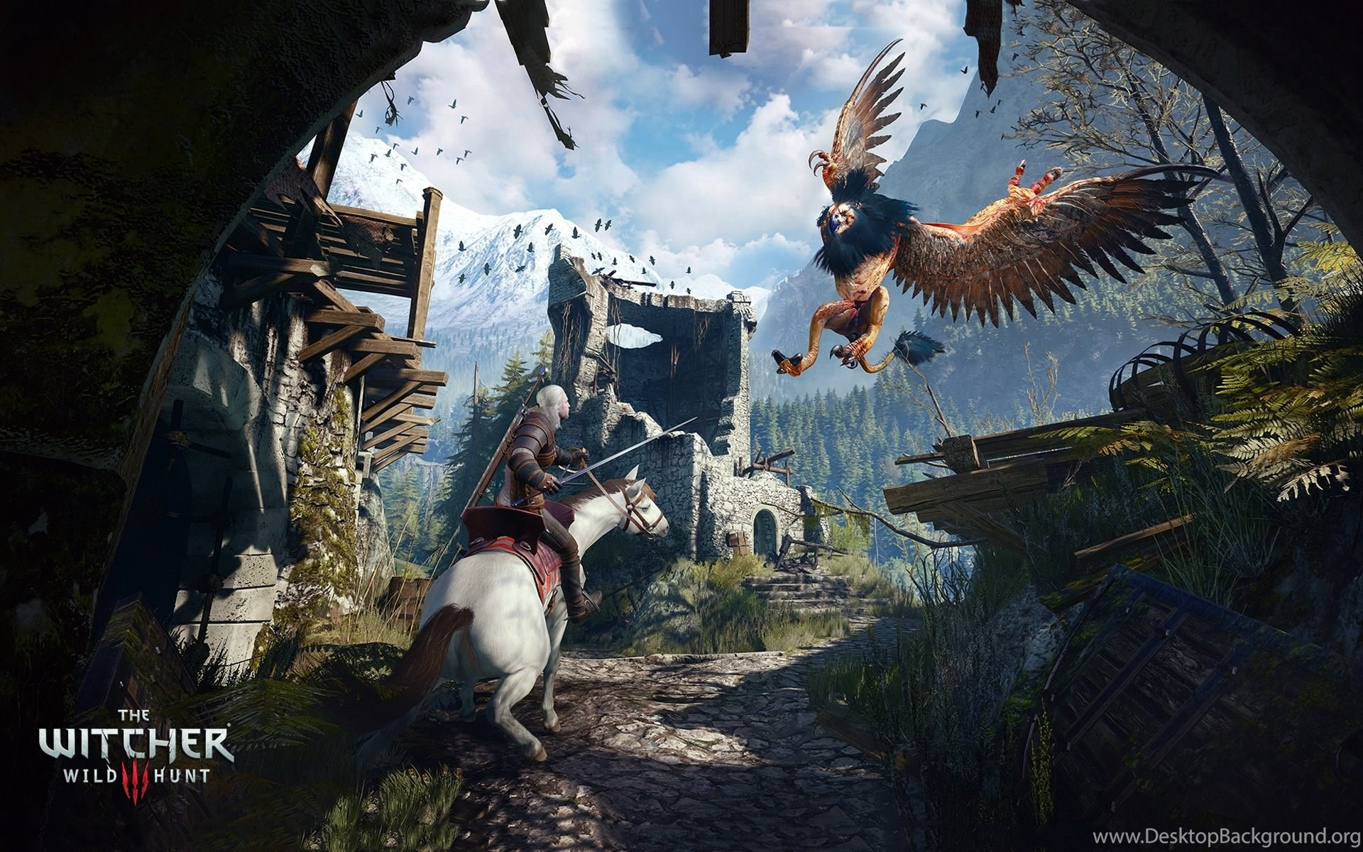 Ciri Witcher 3 Game Wallpapers Hd Free Download For Desktop