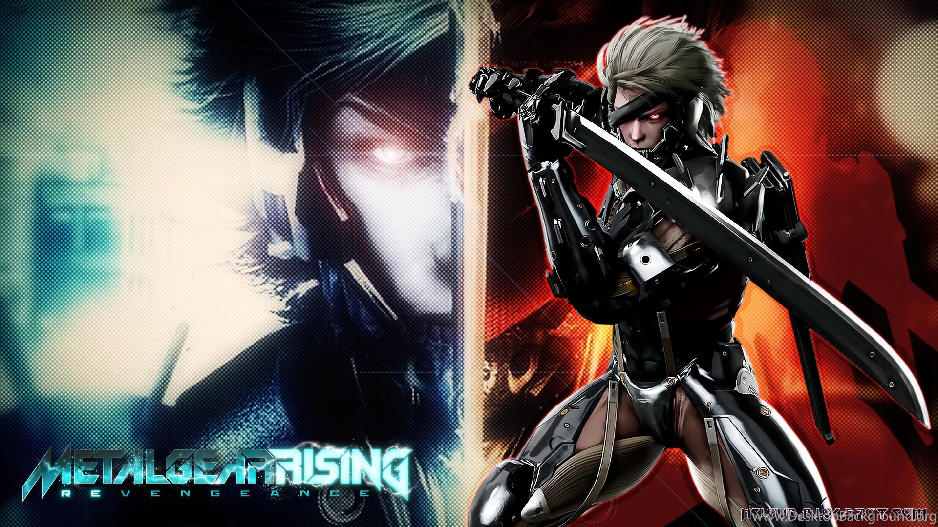 games movies music anime: my metal gear rising wallpapers 2 desktop