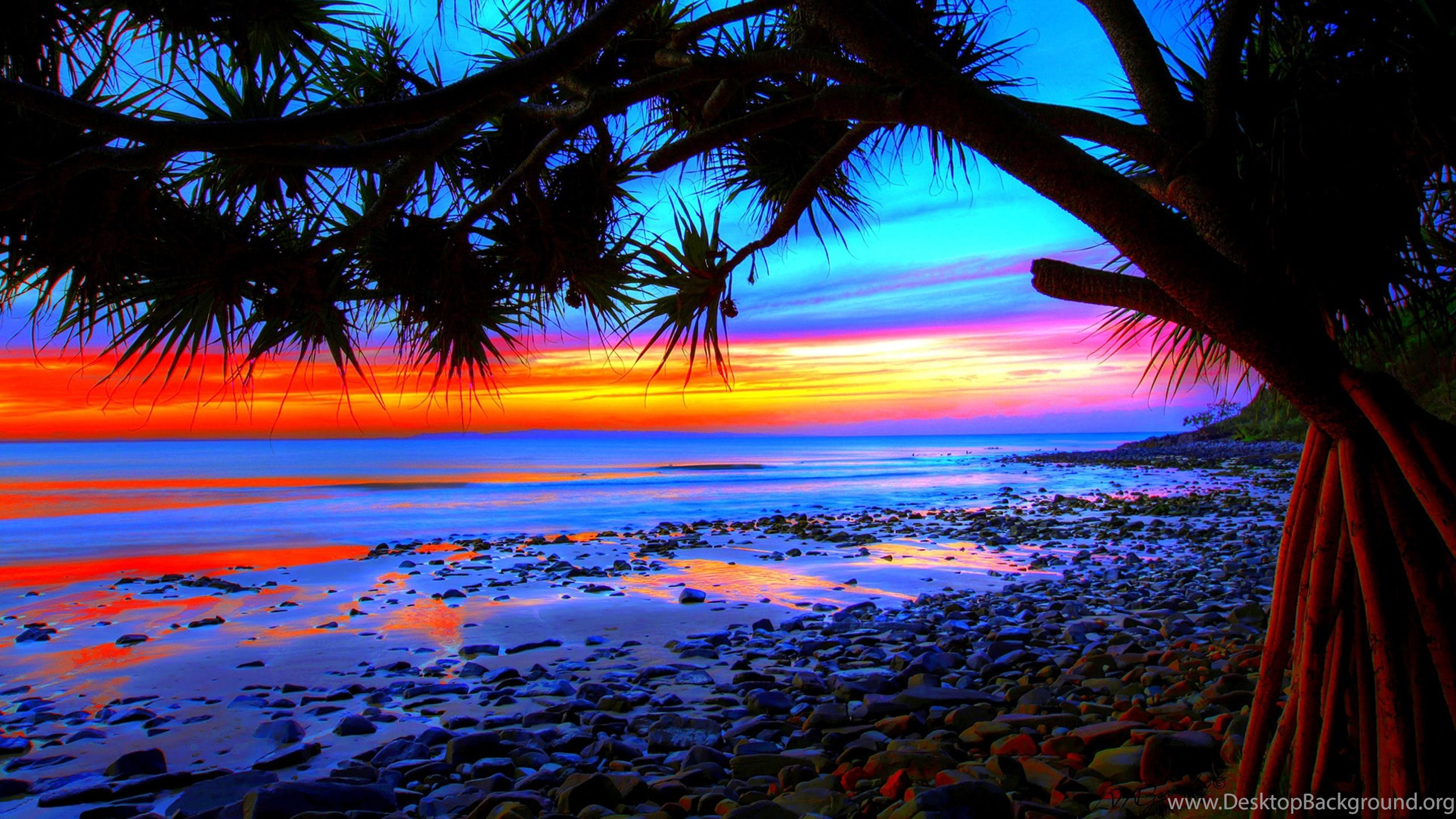 10 Best Tropical Beach Desktop Backgrounds Full Hd 1920: Tropical Beach Sunset Wallpapers 09, HD Desktop Wallpapers