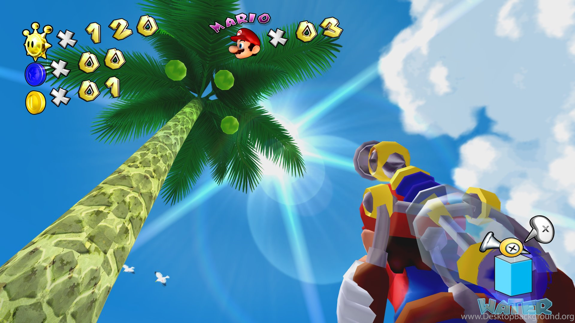 Super Mario Sunshine Hd Would That Sell Desktop Background