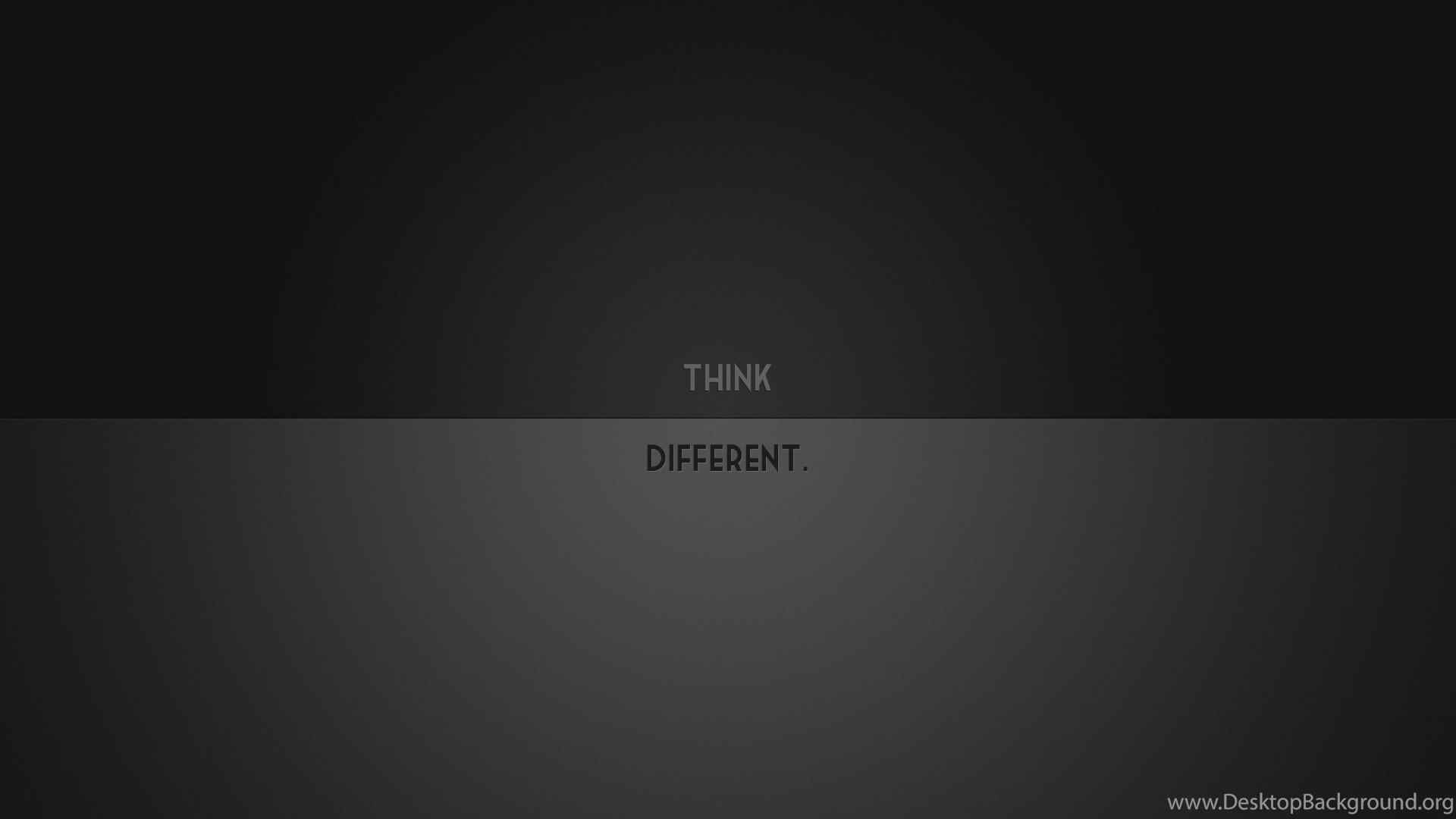 Black Gra nt Different Minimalistic Think HD