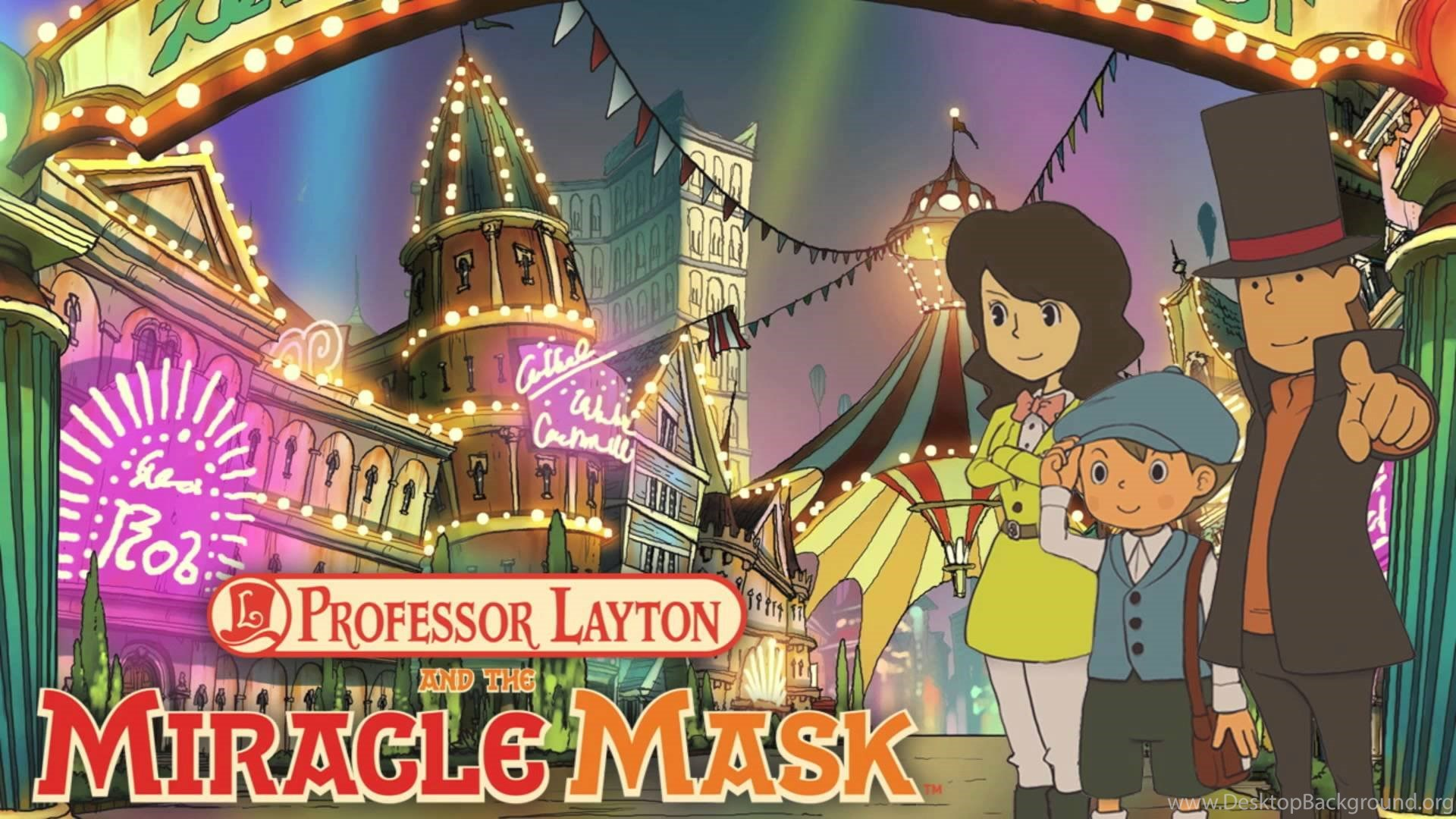 15 Quality Professor Layton And The Miracle Mask Wallpapers Video