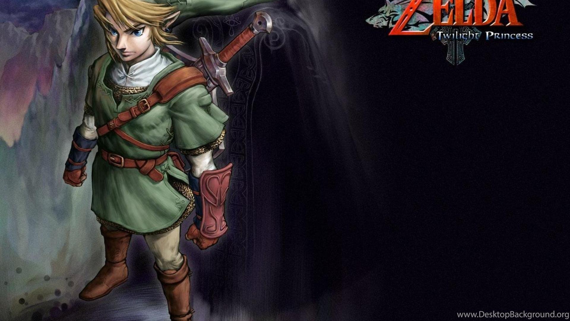 Link Zelda Twilight Princess Hd Wallpapers Desktop Background