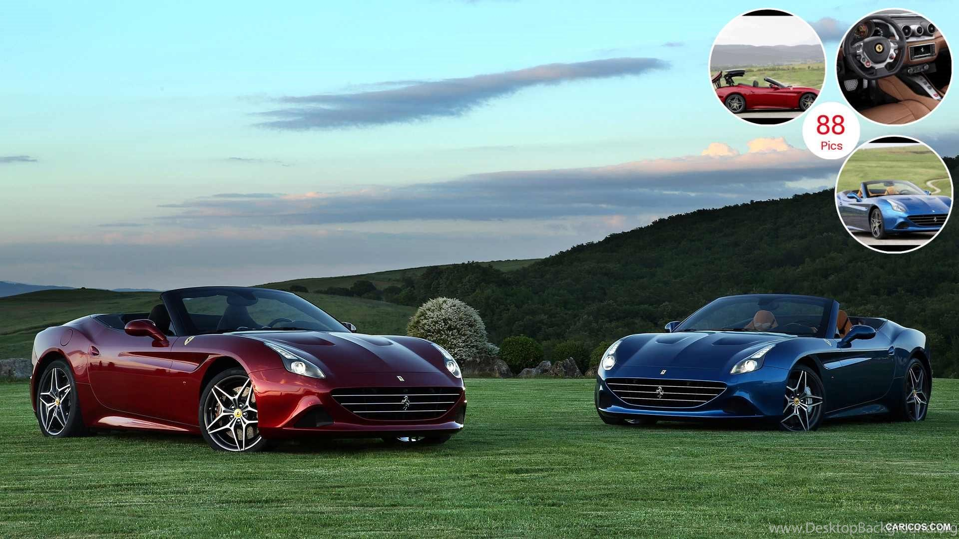 2015 Ferrari California T Front Desktop Background
