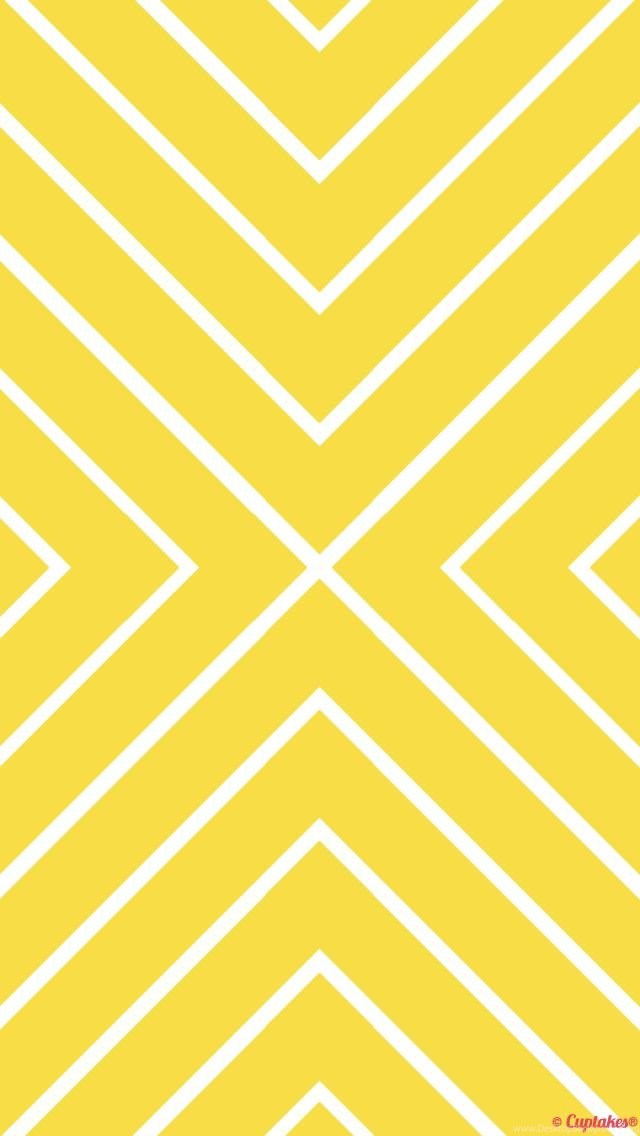 Yellow White Chevron Iphone Phone Wallpaper Backgrounds Lock Screen