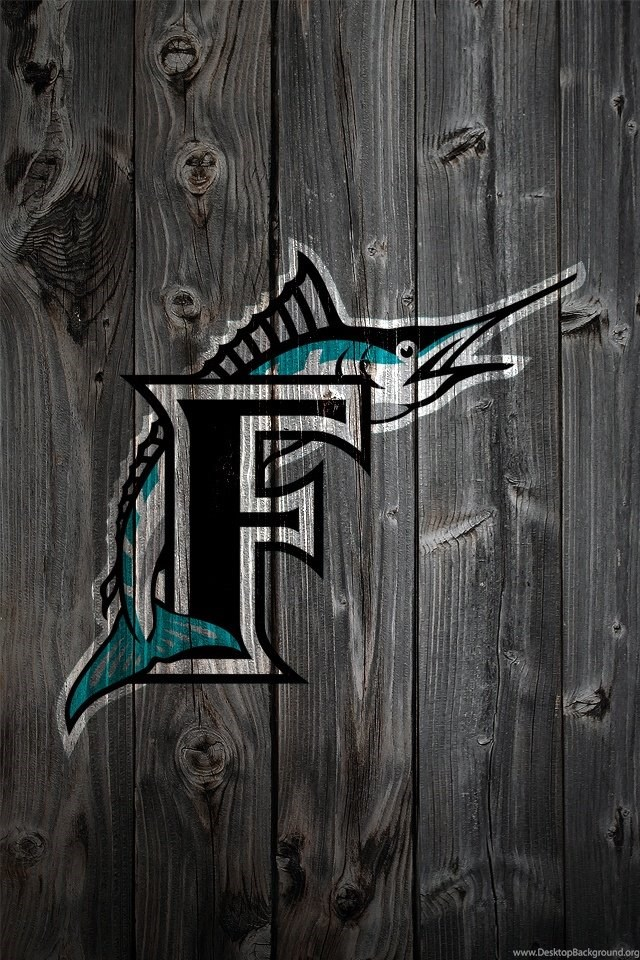 Miami Marlins IPhone Wallpaper Backgrounds Desktop Background