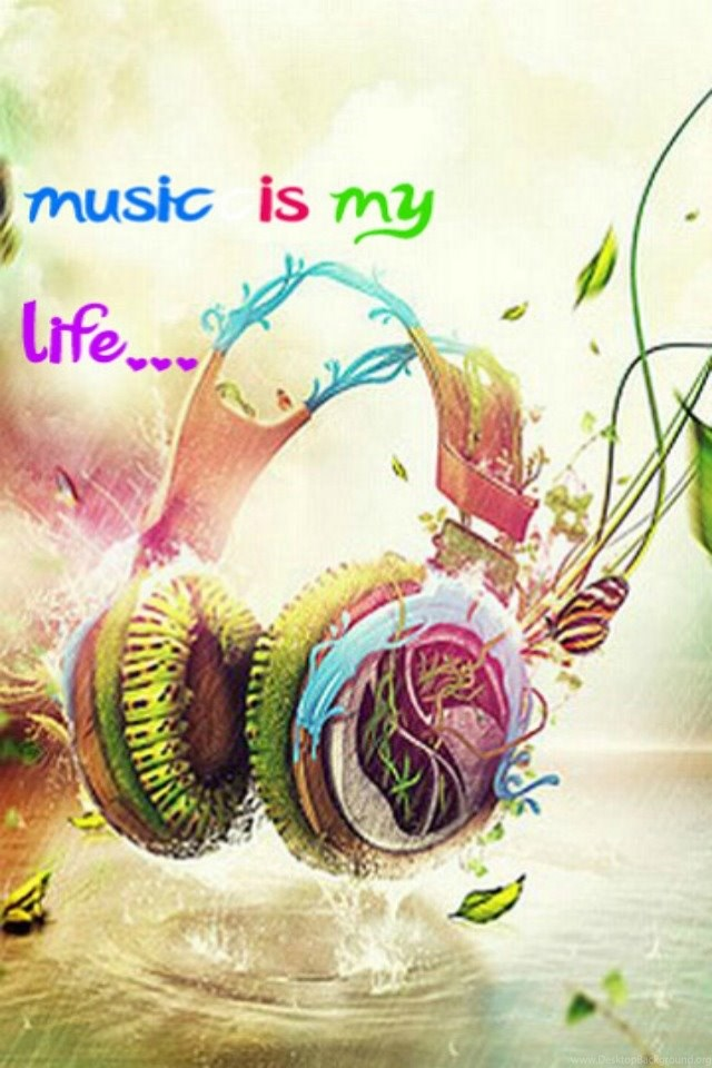 Music Is My Life Music Backgrounds For Your Iphone Download Free Desktop Background