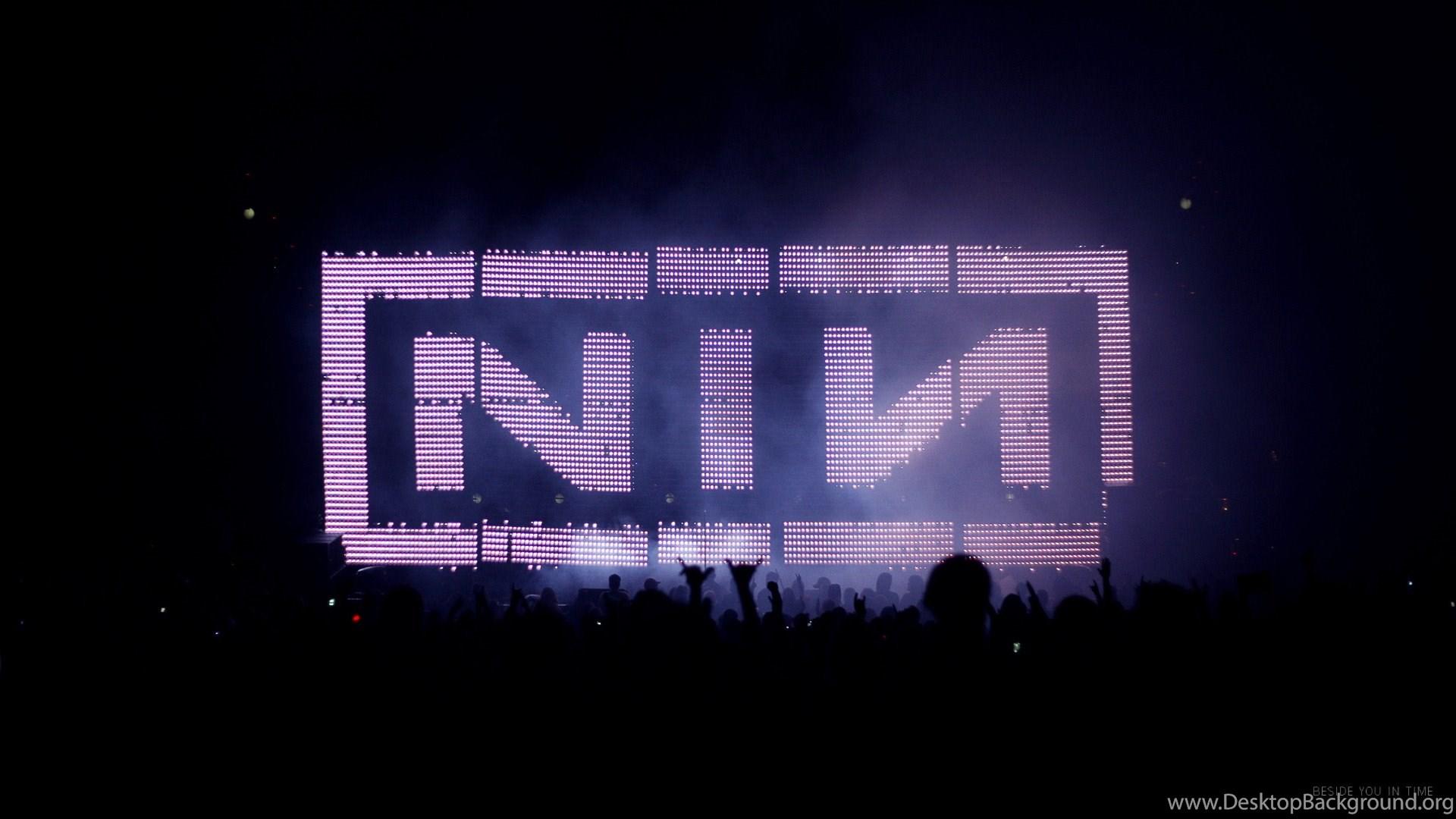 Nine Inch Nails Beside You In Time [wallpaper] Desktop Background