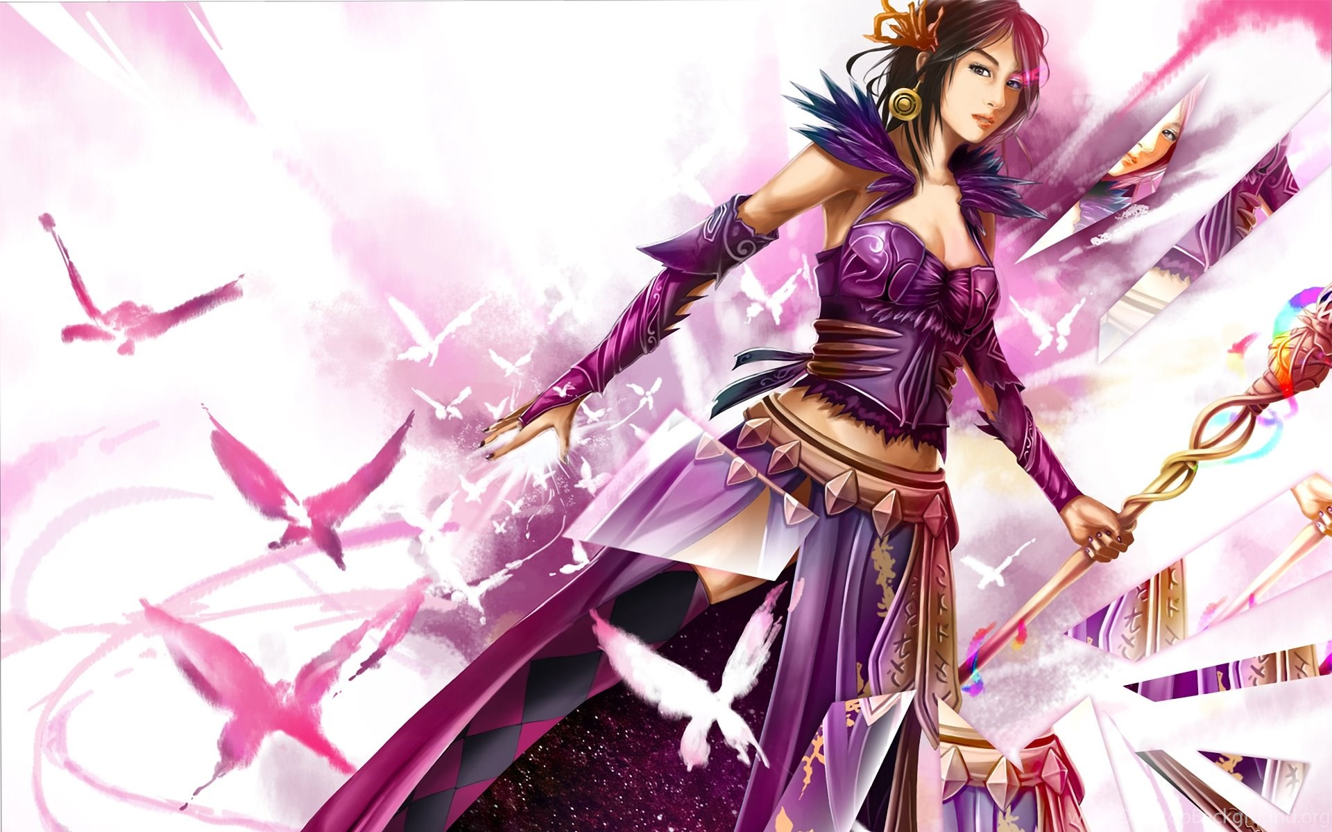 Guild Wars 2 Wallpapers Mesmer Wallpaper Desktop Background