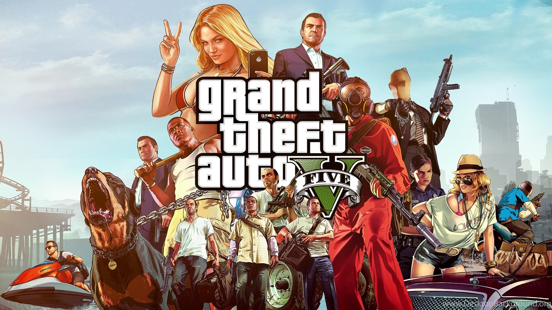 High Resolution Grand Theft Auto GTA 5 Wallpapers For ...