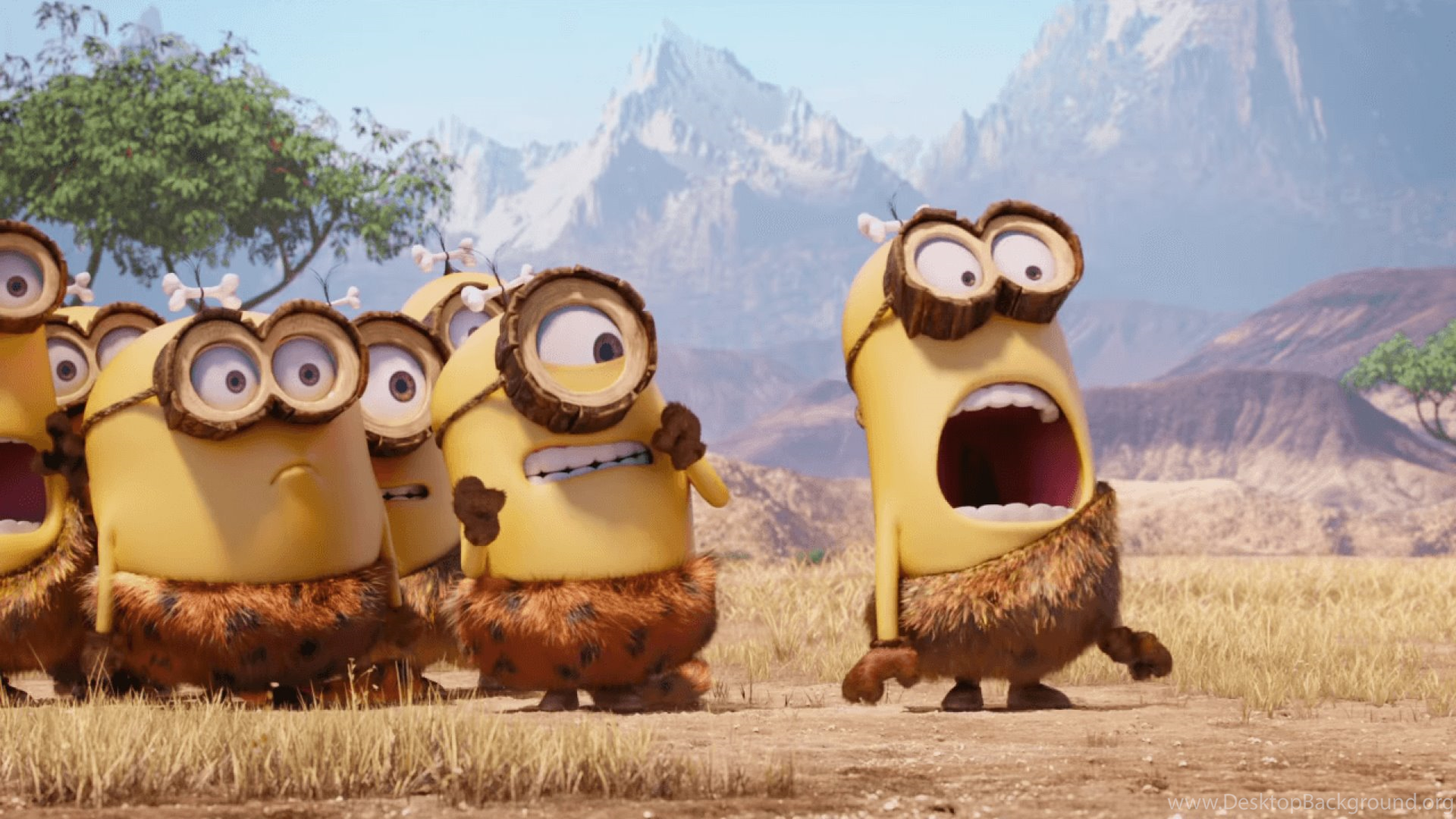 cavemen minions 1920x1080 (1080p) wallpapers minions wallpapers