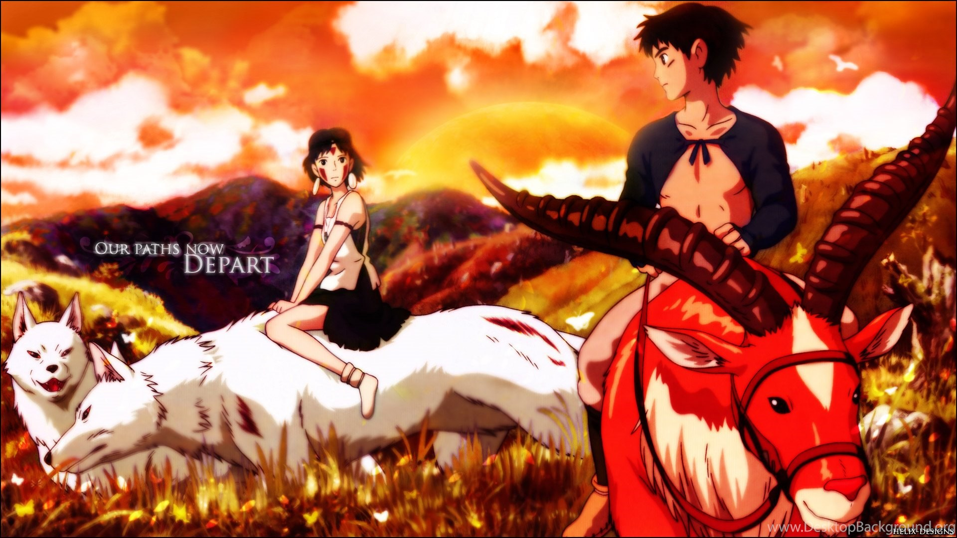 Download Princess Mononoke Wallpapers 1920x1080 Desktop Background
