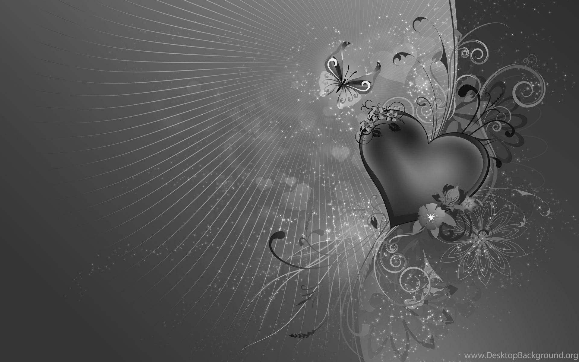 903734 love black and white love heart hdtv 1080p wallpaper black