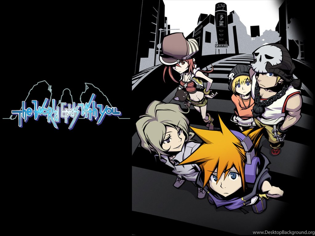 The World Ends With You Wallpapers Desktop Background