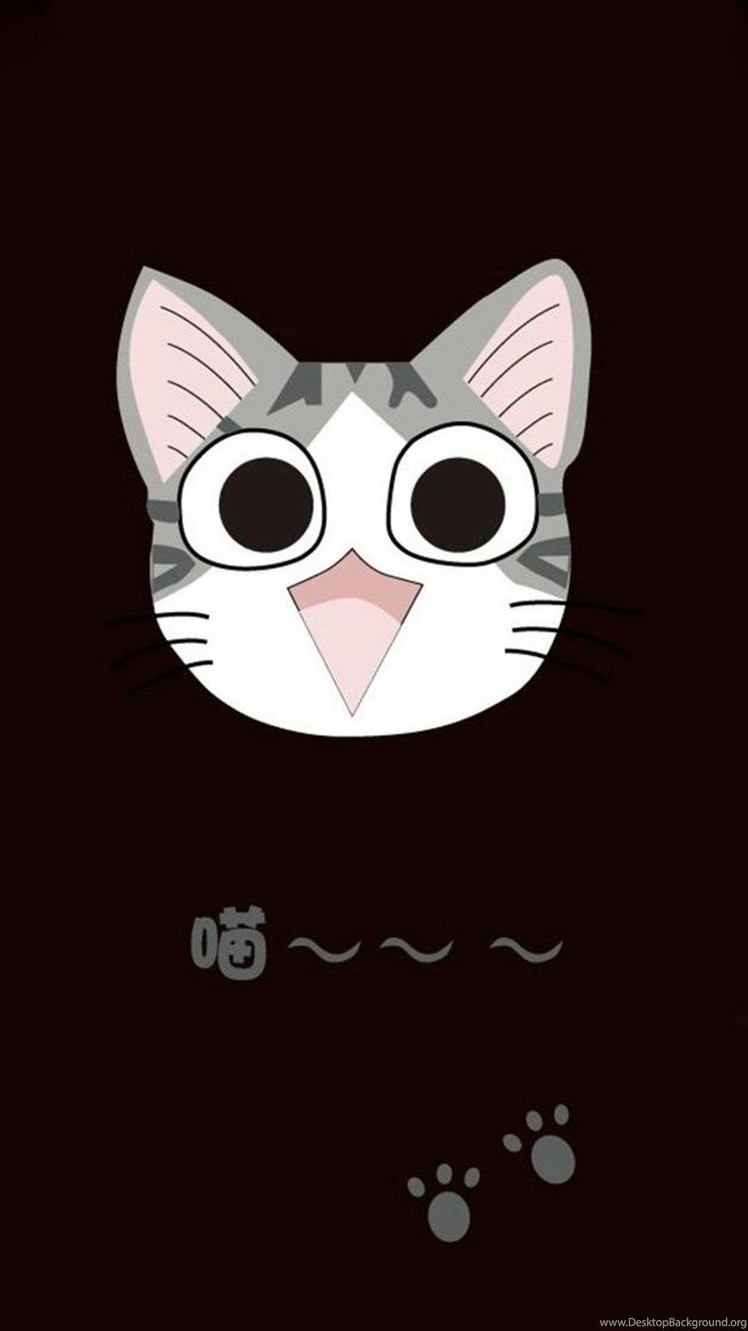 Android Cute Black Wallpaper