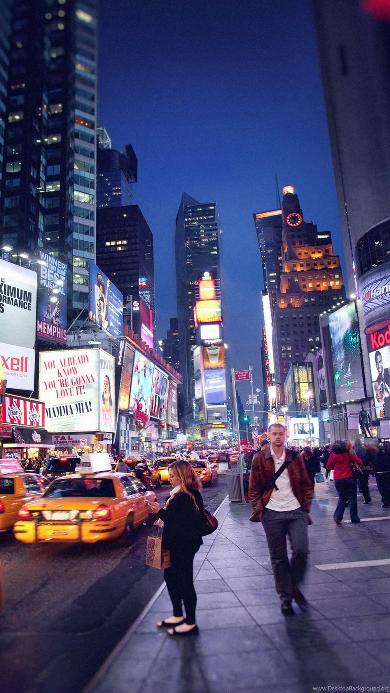 Iphone 6 New York City Super Hd Wallpapers Free Download Desktop Background