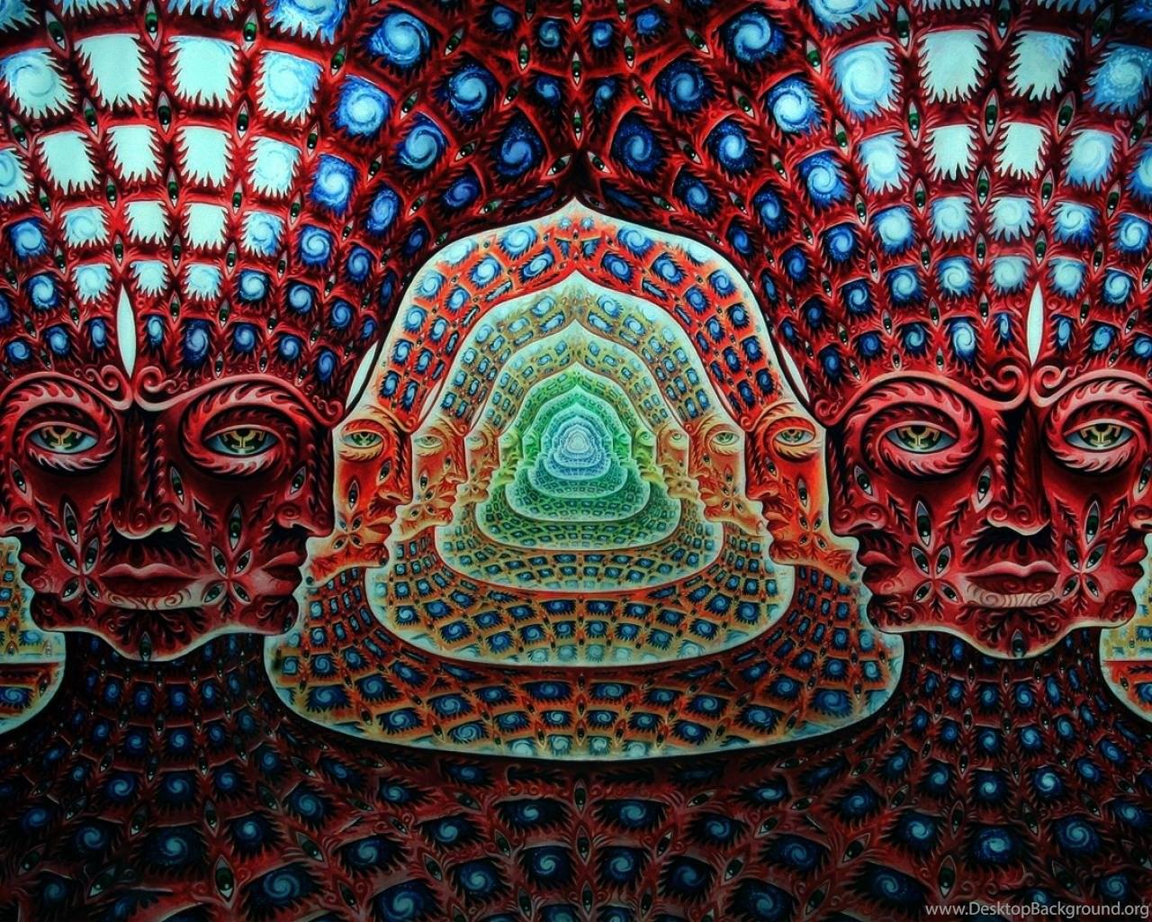 Trippy Alex Grey Wallpapers Desktop Background