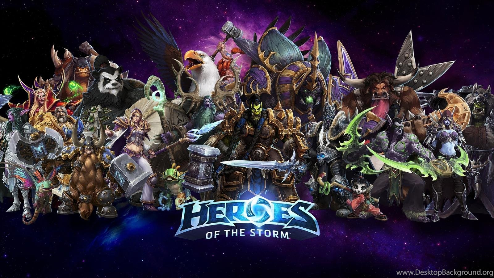 Heroes Of The Storm Wallpapers Hd Backgrounds Download Facebook