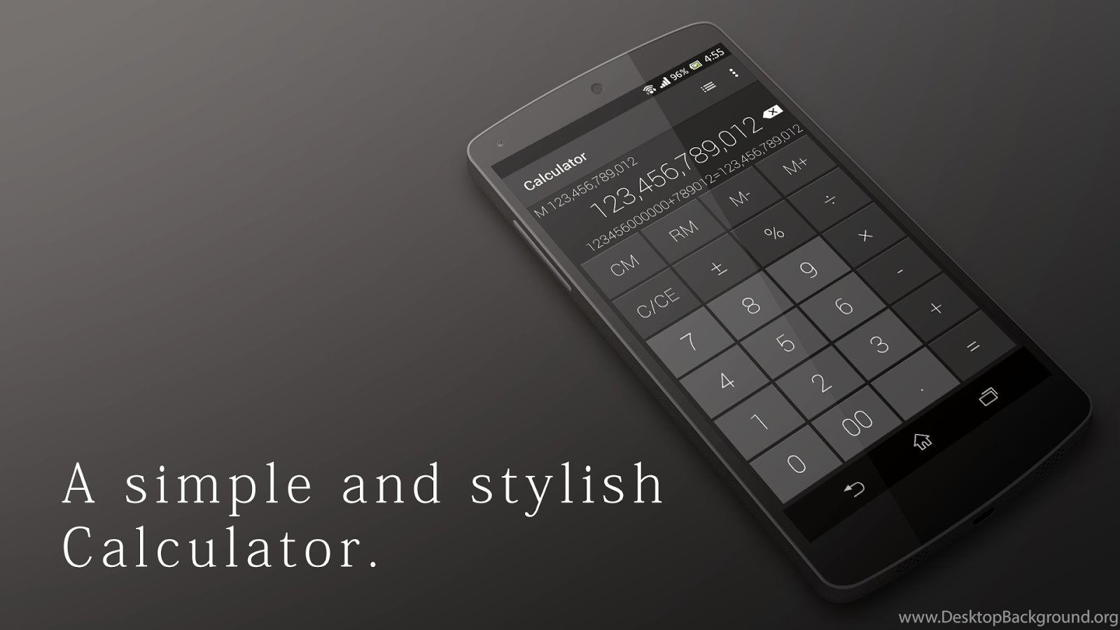 Calculator Simple Stylish Android Apps On Google Play