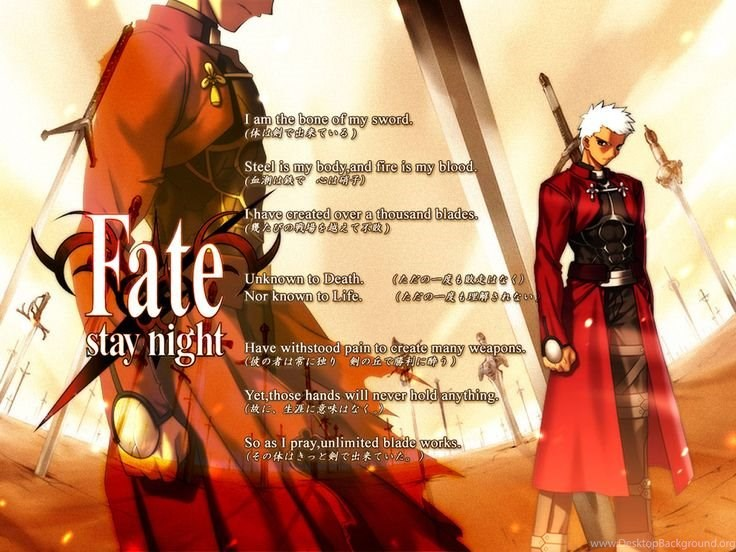 Anime Fate Stay Night Unlimited Blade Works Archer Wallpapers