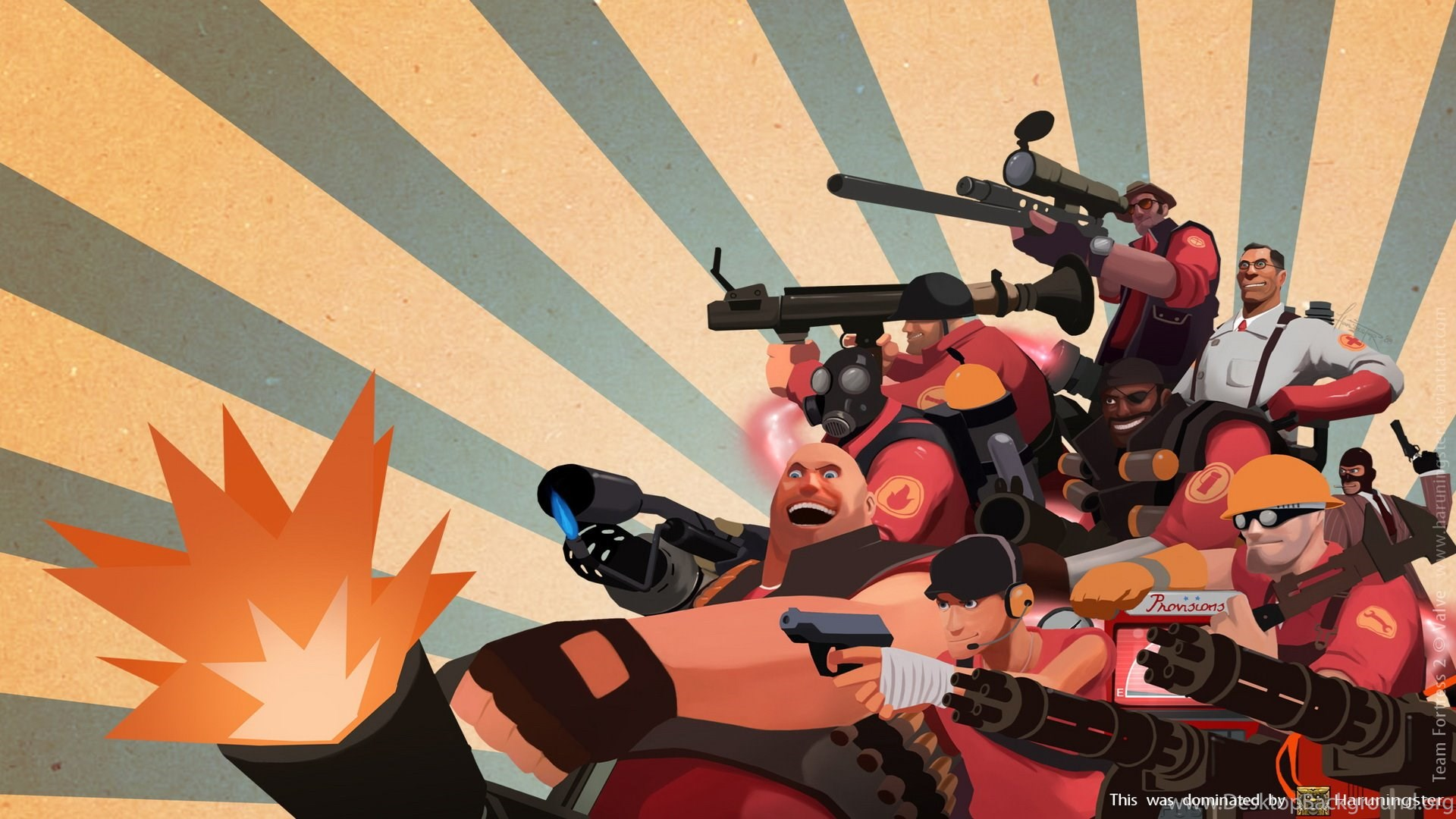 Tf2 Red Wallpapers Game Hd Video Games 1080p