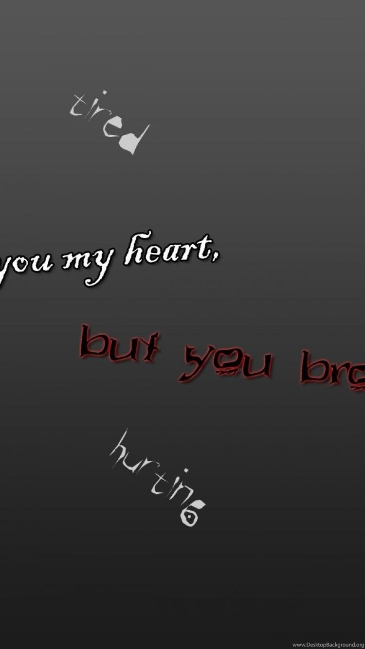 Sadness Heart Anger Tired Depression Hurting Dying Wallpapers Desktop Background