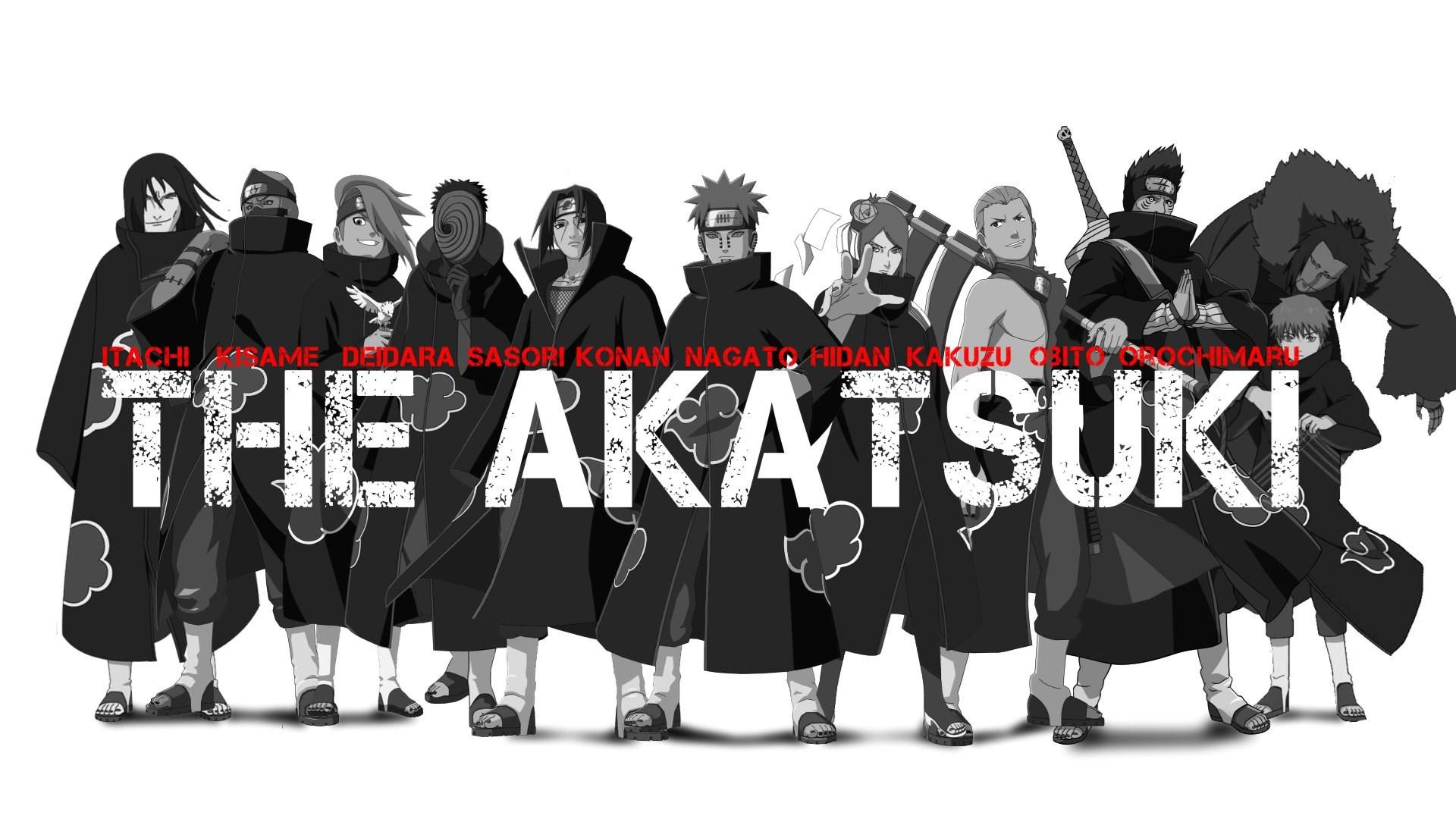 Best Anime Wallpaper Akatsuki 339238 Anime Desktop Background