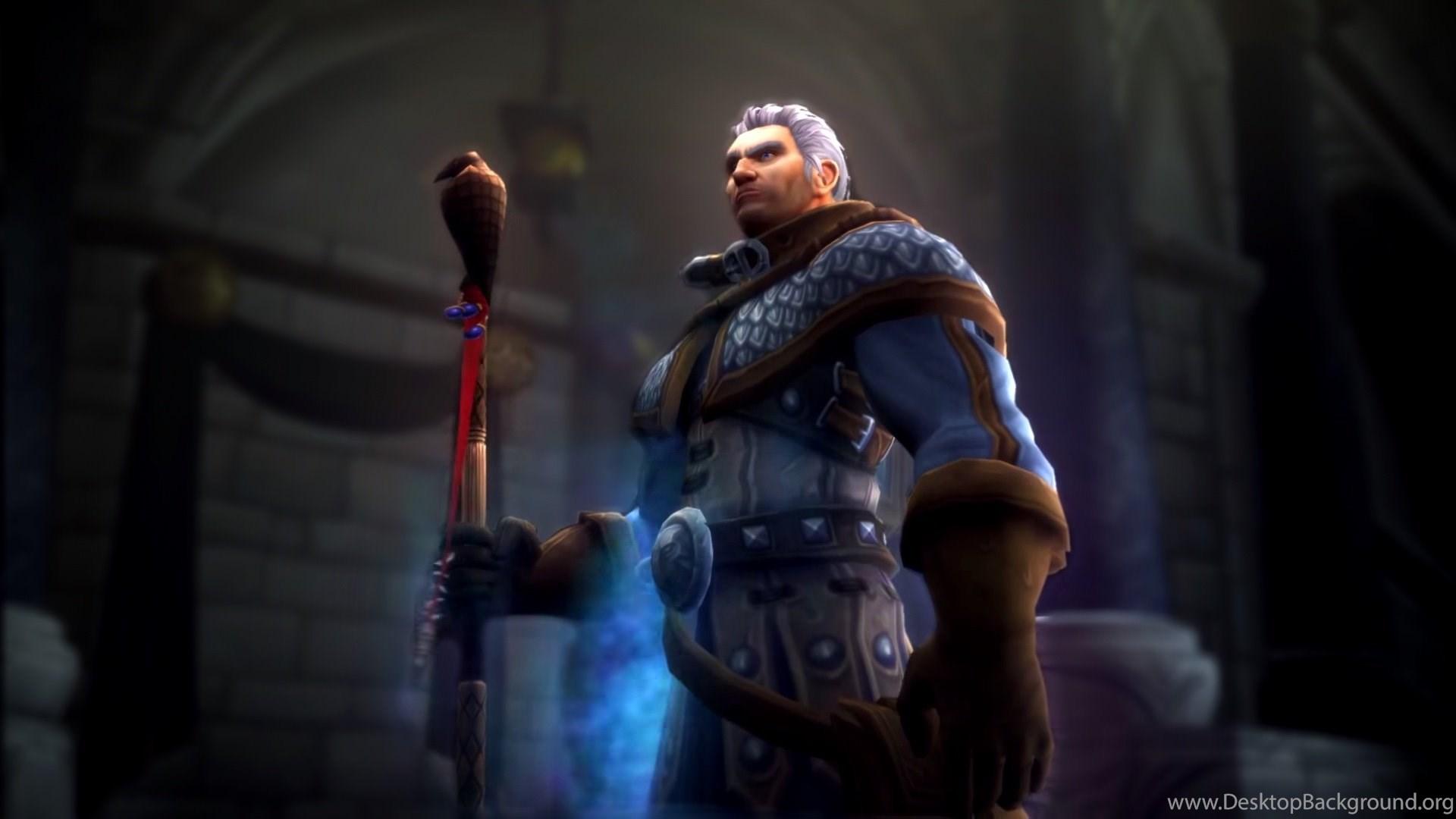 World Of Warcraft Legion Wallpapers Recolored Desktop Background
