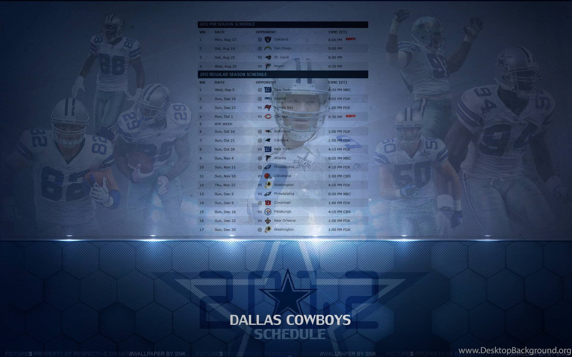 dallas cowboys schedule wallpapers 2015 images desktop background