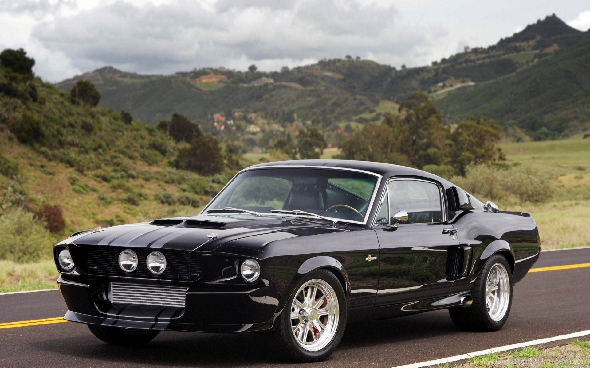 Black Ford Mustang Gt Cars 1920x1200 Hd Wallpapers And Free Stock