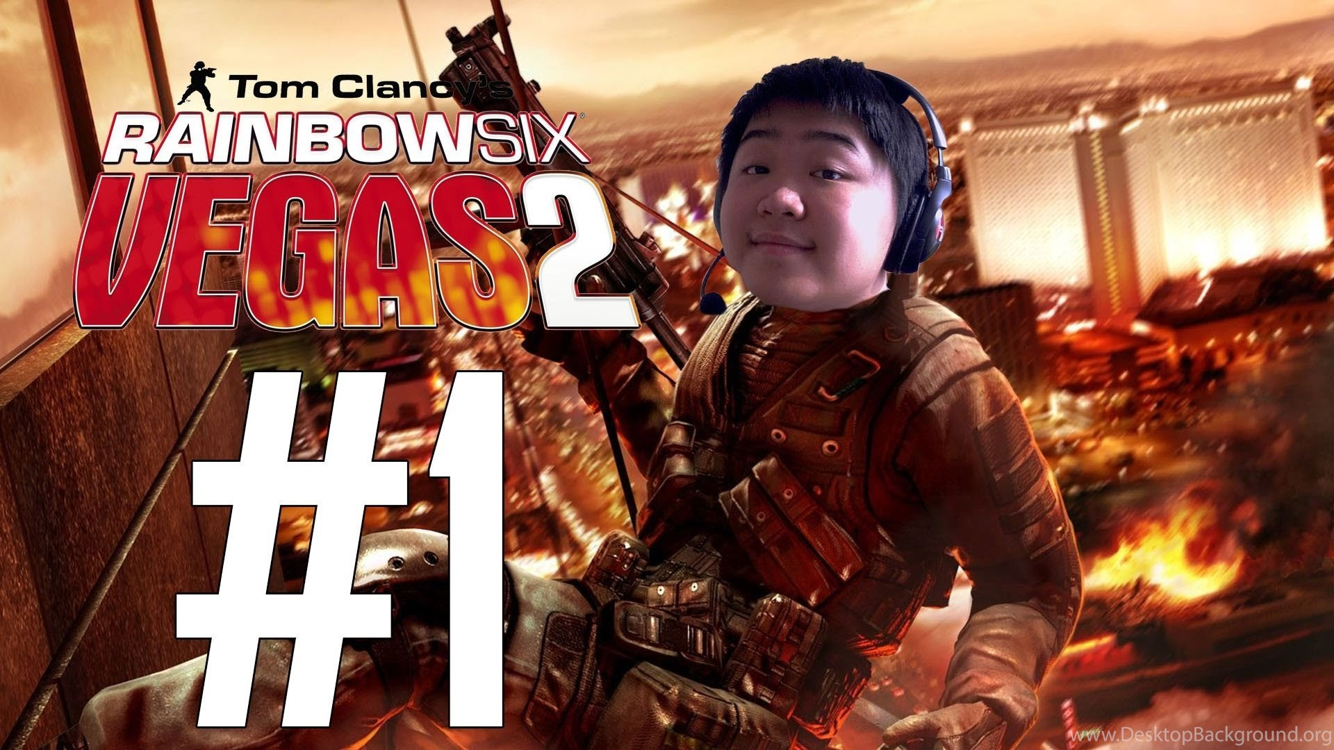 mitch plays: tom clancy's rainbow six vegas 2 mission 1 normal