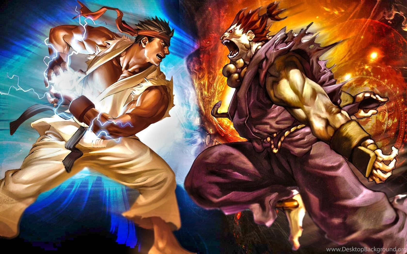 Street Fighter Evil Ryu Wallpapers Desktop Background