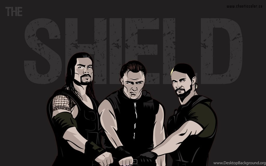 The Shield Wallpapers By Chaotic Color On Deviantart Desktop Background