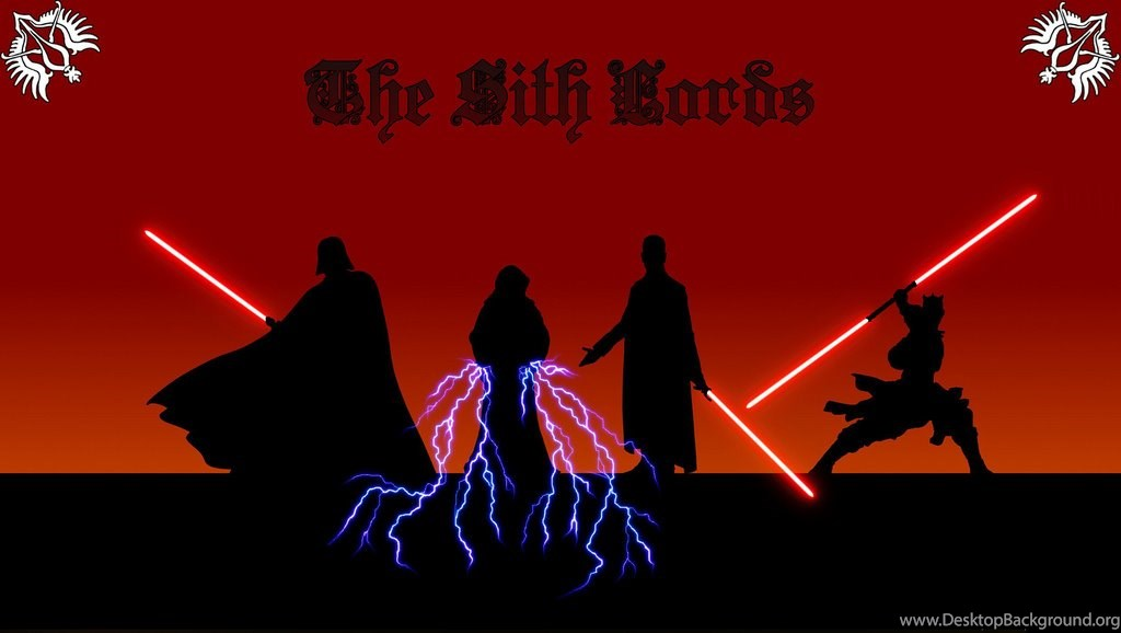 Wallpapers A Star Wars Sith Lords Desktop Background