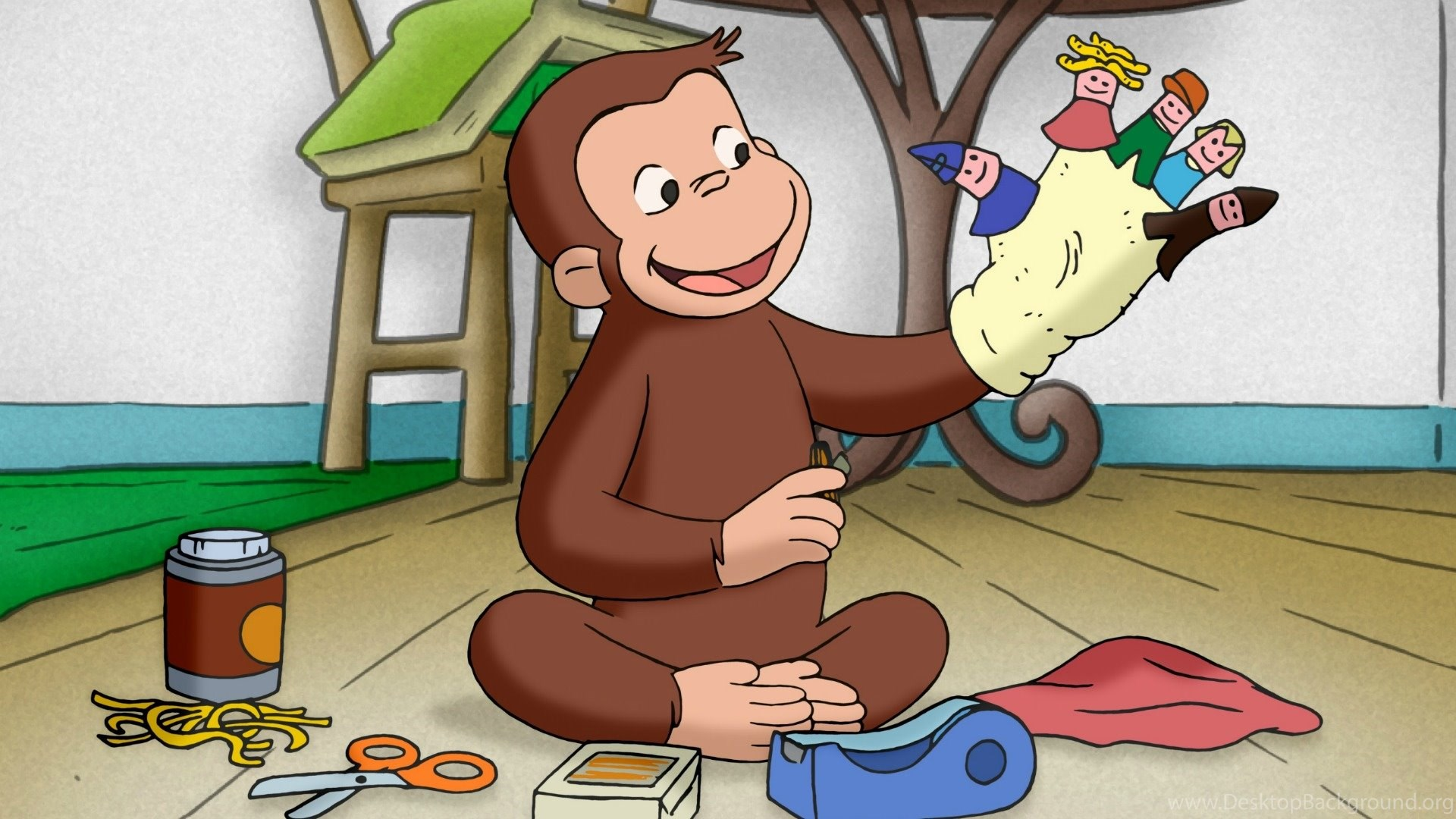 Curious George Wallpapers Desktop Background