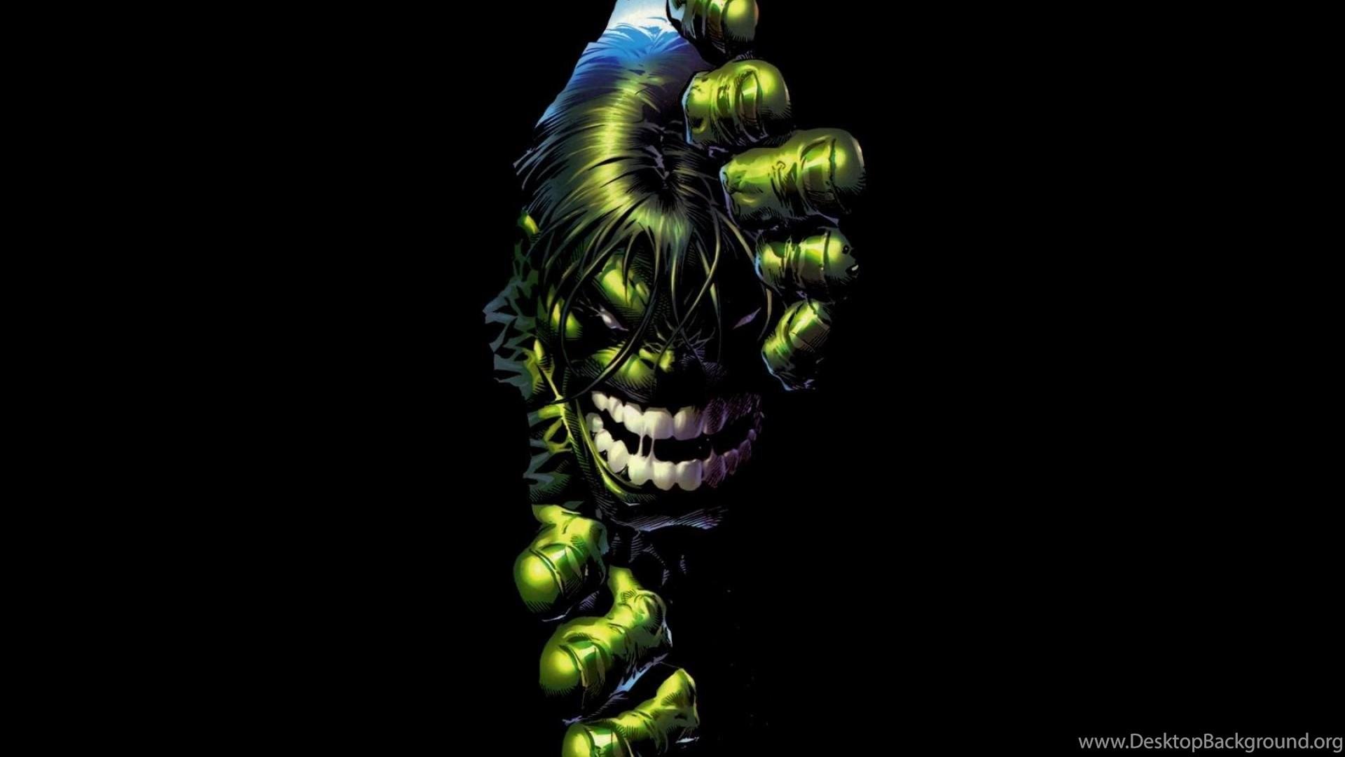 Green Black Hulk Hd Wallpapers Desktop Backgrounds Mobile